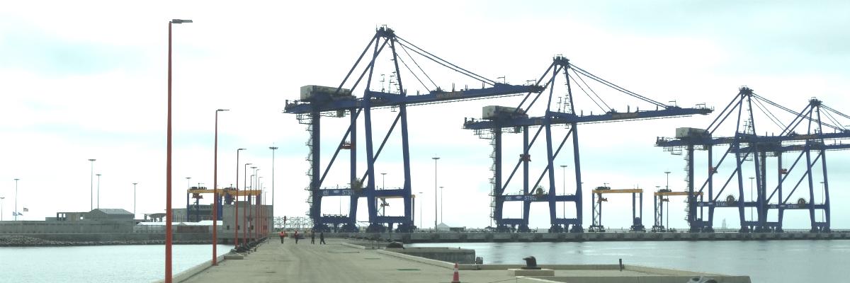 Walvis Bay - 4 x 65T ship to shore cranes
